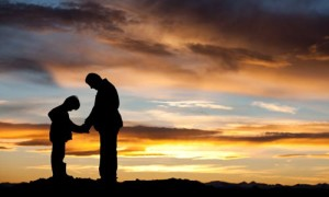Photo source: http://faithsmessenger.com/wp-content/uploads/2014/02/dad_son_sunset_prayer.jpg